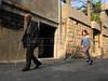Isa Cascas, 99, walks through Michtei, Syria.(Australfoto/Douglas Engle)