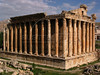A view of one of the best preserved Roman ruins in the Middle East, the Temple of Baachus in Baalbak, Lebanon. Larger than the Parthenon in Athens, the structure was completed around 150 AD, apparently designed for Venus, not Baachus.(Australfoto/Douglas Engle)