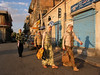 Moslem women walk through a street in Baalbak, Lebanon, a stronghold of the Hezbollah (Party of God). The Hezbollah, known internationally as a terrorist group, also is a legitimate political party in Lebanon, with eight members of parliament.(Australfoto/Douglas Engle)