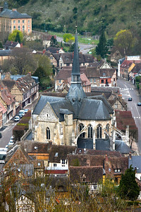 Photofreak. Les Andelys church. Normandy,France.