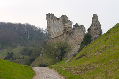 Photofreak. Les Andelys, Chateau Gaillard. Richard the Lionheart. France
