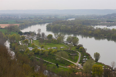 Photofreak. Les Andelys. Chateau Gaillard. Richard the Lionheart. France. View of the Seine.