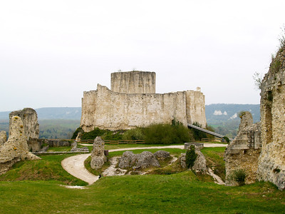 Photofreak. Chateau Gaillard. Richard the Lionheart. Les Andelys, France