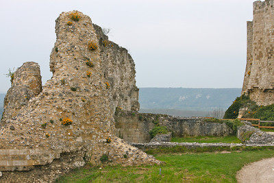 Photofreak. Les Andelys. Chateau Gaillard. Richard the Lionheart. Normandy, France.