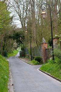 Photofreak. Les Andelys. The lane to Chateau Gaillard. France