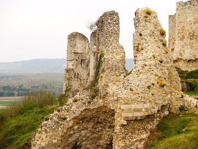Photofreak. Les Andelys, Chateau Gaillard, Normandy, France. King Richard the Lionheart.