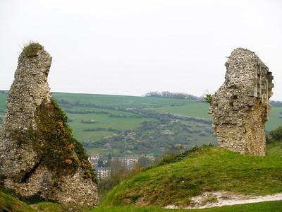 Photofreak. Les Andelys, Chateau Gaillard, Normandy,France. King Richard the lionheart.