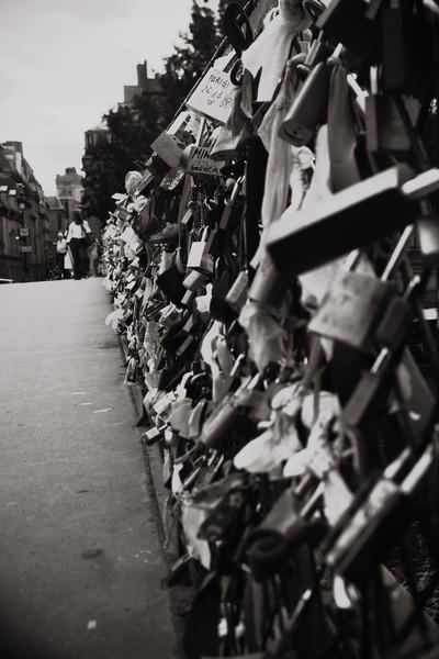 Postcards From Paris - Lock Bridge