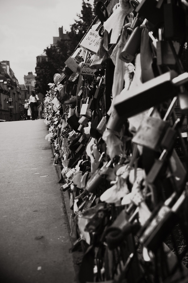 Postcards From Paris - Lock Bridge