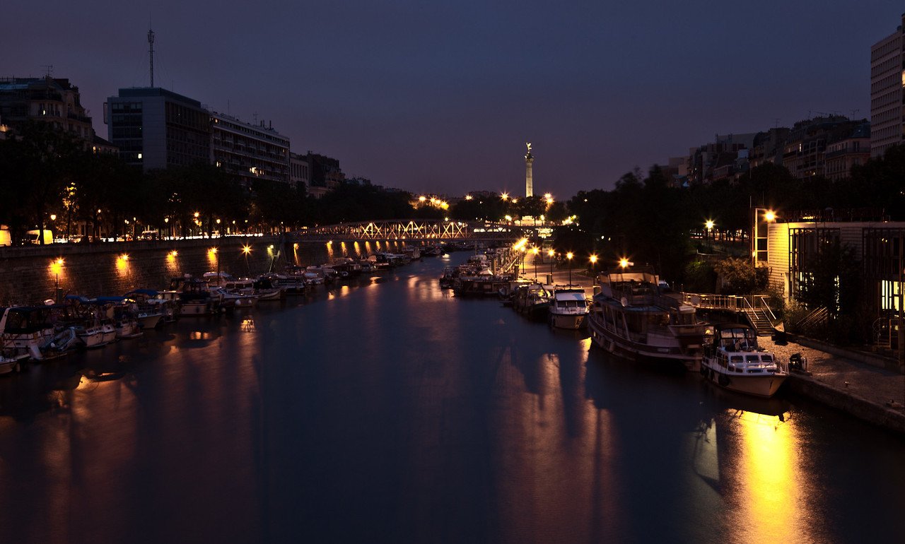 Postcards From Paris - Seine River