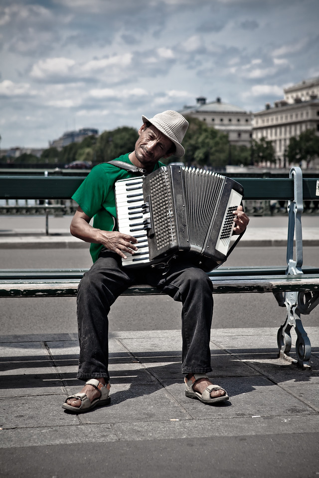 Postcards From Paris - Street Musician