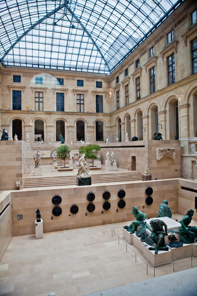 Postcards From Paris - Louvre