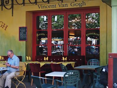 Le Cafe Nuit. Arles, France.
