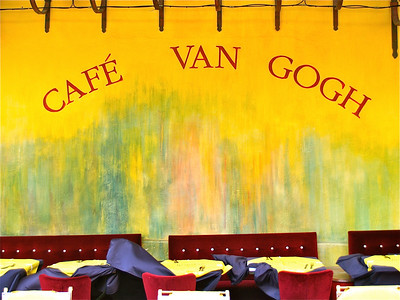 April 26, 2012. Cafe Van Gogh. Arles, France.