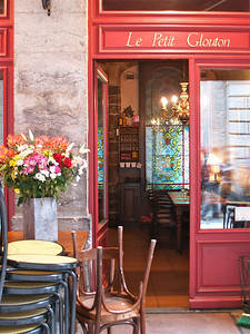 May 14, 2012. Le Petit Glouton cafe. Lyon, France