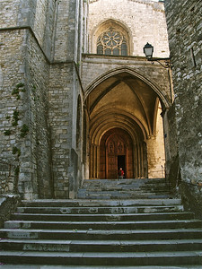 Beautiful, 12th century, St. Vincent's Cathedral is the smallest cathedral in France.