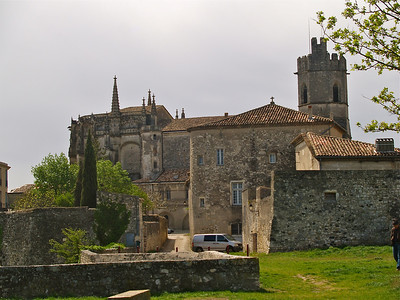 12th Century St. Vincent's Cathedral. Viviers, France.