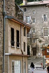 Tournon square. Tournon, France.