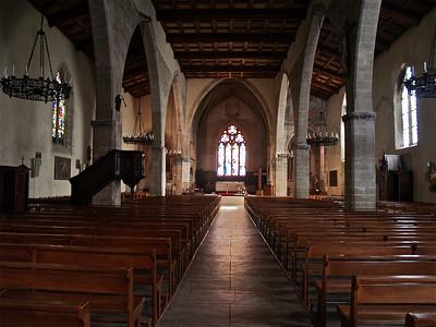 Church. Tournon, France.