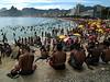 Arpoador and Ipanema Beaches in  Rio de Janeiro.(Australfoto/Douglas Engle)