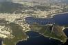Aerial view of Rio de Janeiro, with the Sugarloaf mountain at right, Nov. 23, 2004.(AustralFoto/Douglas Engle)