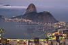 The Sugarloaf Mountain looms above the Guanabara Bay and Rio de Janeiro in this photo taken Aug. 7, 2002.(AustralFoto/Douglas Engle)