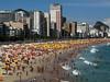Leblon Beach in  Rio de Janeiro.(Australfoto/Douglas Engle)