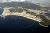 Aerial view of the south side of Rio de Janeiro, showing Copacabana Beach, Nov. 23, 2004.(AustralFoto/Douglas Engle)