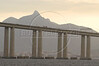 The Niteroi Bridges spans the Guanabara Bay, connecting Rio de Janeiro with Niteroi. (AustralFoto/Douglas Engle)