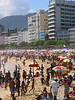 Beachgoers enjoy the summer sun on Ipanema beach in Rio de Janeiro.  (AustralFoto/Douglas Engle)