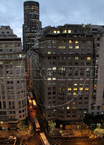 A view of  downtown Rio de Janeiro. (Australfoto/Douglas Engle)