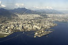 Aerial view of downtown Rio de Janeiro, with the Santos Dumont Airport in the foreground, Nov. 23, 2004.(AustralFoto/Douglas Engle)