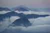 Fog surrounds the mountains of Rio de Janeiro. (AustralFoto/Douglas Engle)