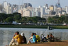 A view of the Ibirapuera Park in Sao Paulo, Brazil, September 4, 2006. (Australfoto/Douglas Engle)