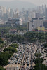 Morning rush hour in Sao Paulo, Brazil, the largest city in South America. (Australfoto/Douglas Engle)
