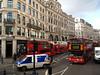 Shops and traffic on Regent Street in London, United Kingdom.(Australfoto/Douglas Engle)