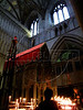 A view of the Shrine of St Alban, in the St Albans Cathedral in St Albans, England. <br /> St Alban, the first British Christian martyr, was beheaded sometime before AD 324 and gave the city its modern name.(Australfoto/Douglas Engle)