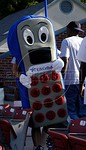 A person in a cellular outfit promotes phones for U.S. Cellular. According to the company, it is the nation's eighth largest wireless service carrier with more than 4.5 million customers in  ...