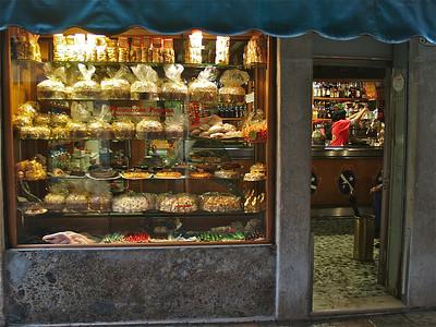 Pastry shop. Venice, Italy.