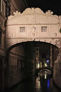 Bridge of Sighs. Venice, Italy.