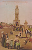 Postcard: The Clock Tower and Foundtain, Herne Bay, Kent. 1906. Likely a later reproduction of image.