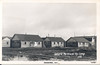 Postcard Log cabins in Moosonee marked as Ontario Northland Rly. Camp, Wilderness Pictures card 49