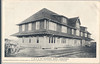 Postcard:  T & N.O. Ry. Division Depot, Englehart, Ontario. 1907 by J.H. Field, mailed 1908