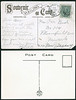 Postcards: Old (top) and new Albert Colleges in Belleville, Ontario. Old card mailed November 25, 1907.