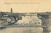 "Postcard: Belleville, Ontario. View of the Moira River looking towards Queen Victoria Park showing suspension foot bridge and Bridge Street bridge. Mailed 1901. Once cent stamp. On front written ""We crossed here this a.m."" above foot bridge. Front"