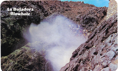 """""""The Bufadora"""" (Blowhole); An effect that can only be  seen in Ensenada, Mexico and Hawaii"""