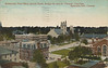 Postcard: Belleville, Ontario, mailed September 21, 1912. Post office, armouries, Hotel Quinte, Churches (Bridge Street, St. Thomas). Message on reverse