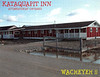 Postcard unused Kataquapit Inn Box 101 Attawapiskat Ontario P0L 1A0 705 997-2134
