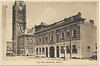 Postcard: Belleville, Ontario City Hall and adjacent building. Mailed 1946 September 1st. Tower of City Hall printed to edge of card.