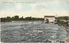 Postcard: Belleville Ontario Lazier's Mills on the Moira River mailed 1911 (?) November 7.